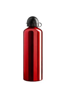 Hliníková láhev objem 0,6l red