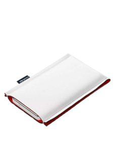 Neoprenové pouzdro na mobil white red