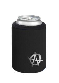 Neoprenový termoobal na plechovku 0,33l potisk Anarchista silver