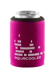 Neoprenový termoobal na plechovku objem 0,33l potisk Aquacool pink