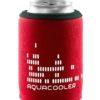 Neoprenový termoobal na plechovku objem 0,33l potisk Aquacool red