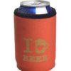 Neoprenový termoobal na plechovku 0,33l potisk I love beer cihla gold