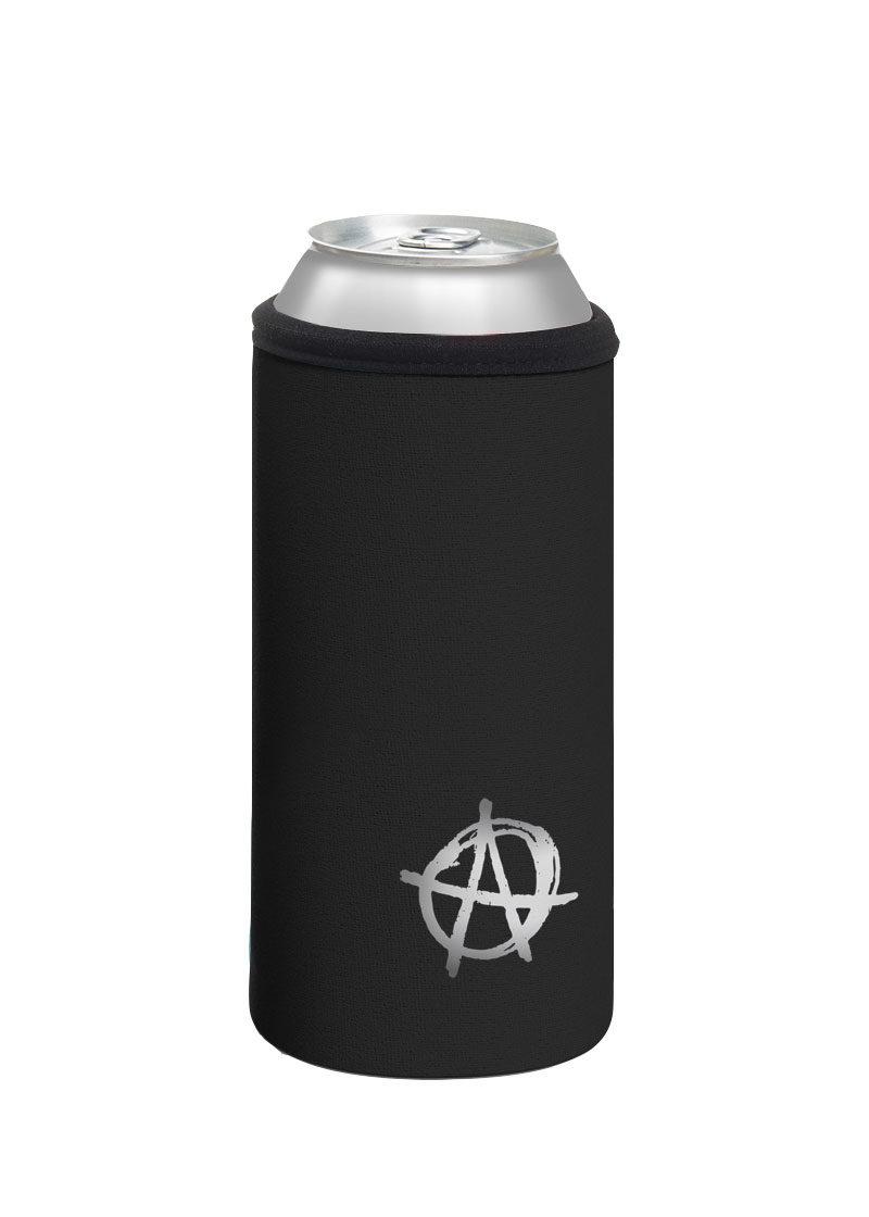 Neoprenový termoobal na plechovku 0,5l potisk Anarchista black