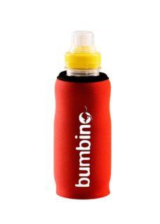 Neoprenový termoobal bumbino na kojeneckou láhev 0,25l orange