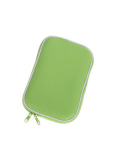 """Neoprenové pouzdro na tablet 7"""" se zipem green"""