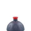 Náhradní víčko se zátkou Zdravá lahev antracit red