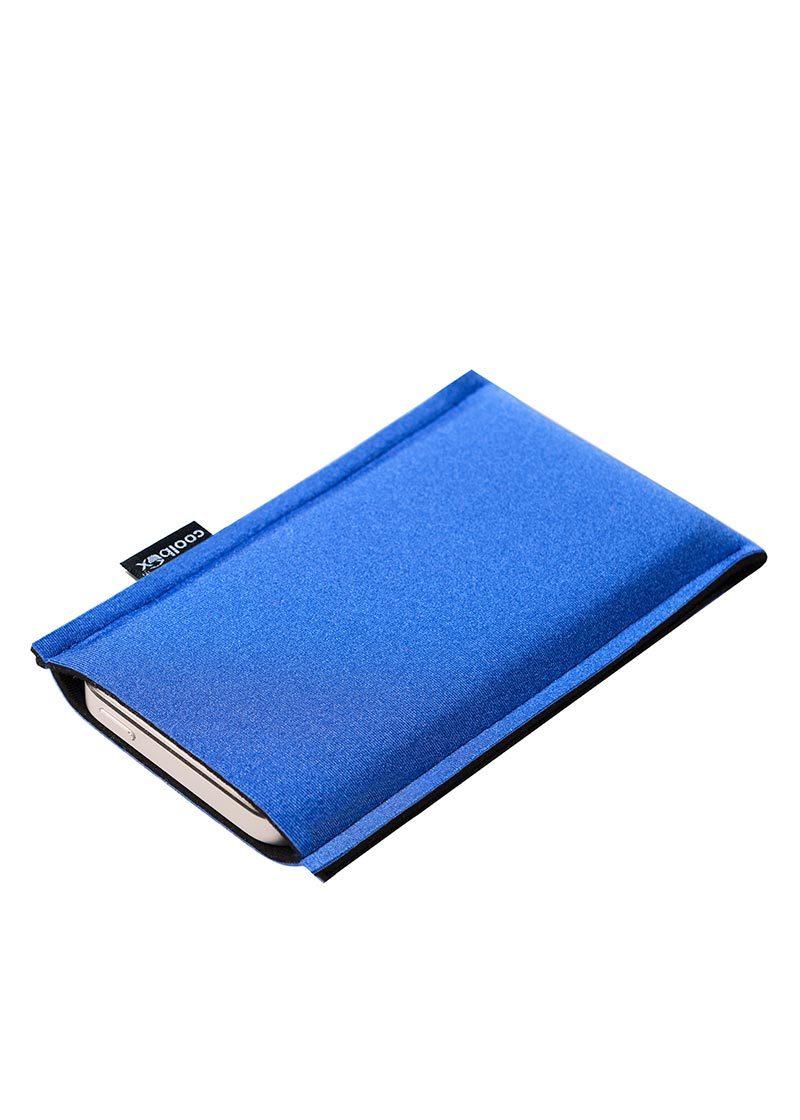 Neoprenové pouzdro na mobil blue-black