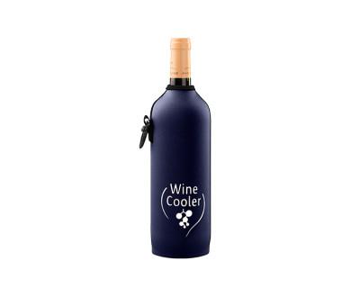 Neoprenový termoobal na víno 0,7l darkblue