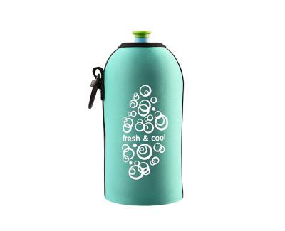Neoprenový termoobal na sportovní lahev 0,5l fresh-cool mint