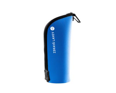 Neoprenový termoobal Cabrio na Zdravou lahev 0,5l blue