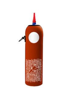 Neoprenový termoobal na hokejovou láhev 1,0l potisk nápisy cihla