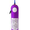 Neoprenový termoobal na hokejovou láhev 1,0l potisk Nápisy crash purple