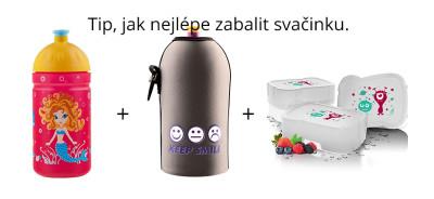 Zdravá svačina - Zdravá lahev, termoobal a Zdravý FreeWater box