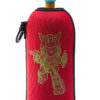 Neoprenový termoobal na sportovní a Zdravou lahev o objemu 0,5l potisk Robot red