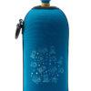 Neoprenový termoobal na sportovní a Zdravou lahev objem 0,5l potisk Mořská zvířátka blue