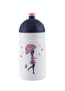 Zdravá lahev Dívka s deštníkem objem 0,5l