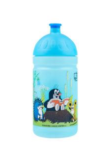 Zdravá lahev objem 0,5l Krtek-knížka blue