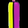 Neoprenový termoobal na sportovní lahev objem 0,7l potisk Aquacooler -yellow2