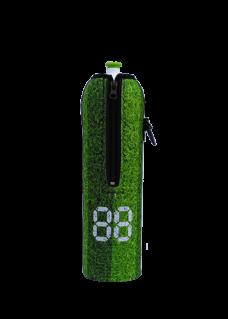 Neoprenový termoobal na sportovní a Zdravou lahev o objemu 1,0l potisk míč-hřiště 2
