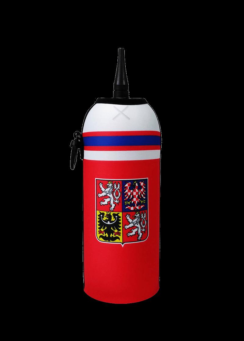 Neoprenový termoobal na hokejovou láhev 0,7l potisk Hokejový dres