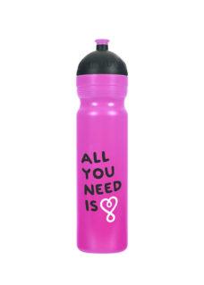 Zdravá lahev All you need fialová objem 1,0l