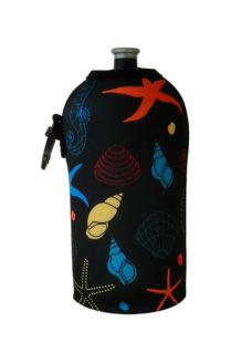 Neoprenový termoobal na sportovní a Zdravou lahev 0,5l potisk seahorse
