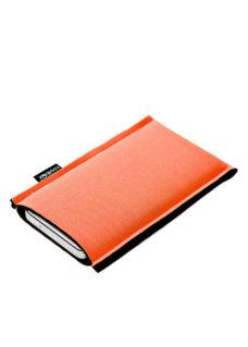 Neoprenové pouzdro na mobil orange black