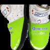 Neoprenový návlek na cyklobotu Triathlon Plzen neongreen