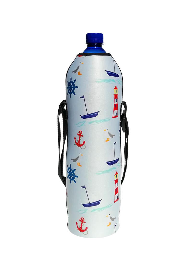 Neoprenovený termoobal na plast. lahev 1,5l námořní