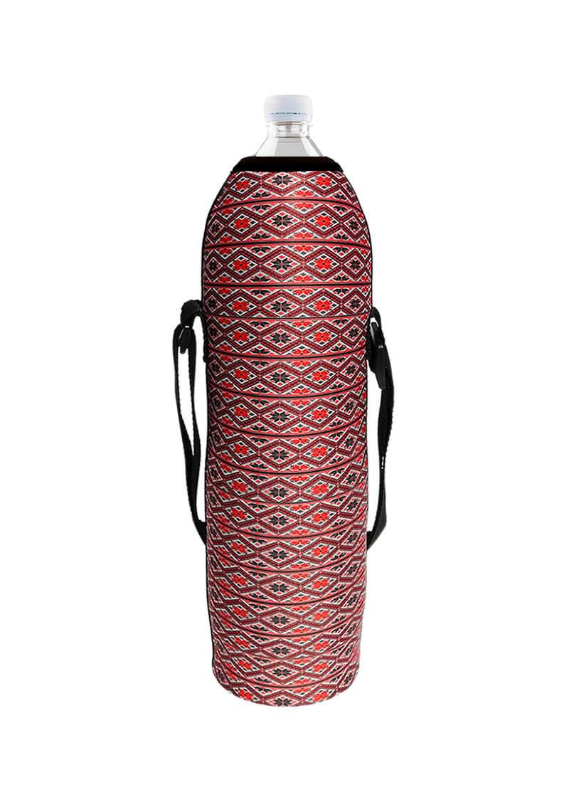 Neoprenový termoobal na plast. láhev 1,5l ornament