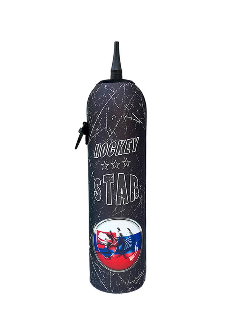 Neoprenový termoobal na hokejovou láhev 1,0l Hockey STAR Slovakia