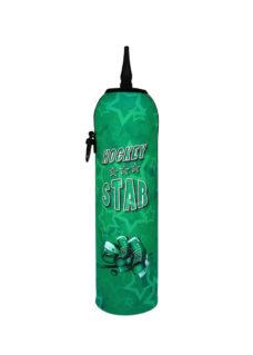 Neoprenový termoobal na hokejovou láhev 1,0l Hockey STAR green