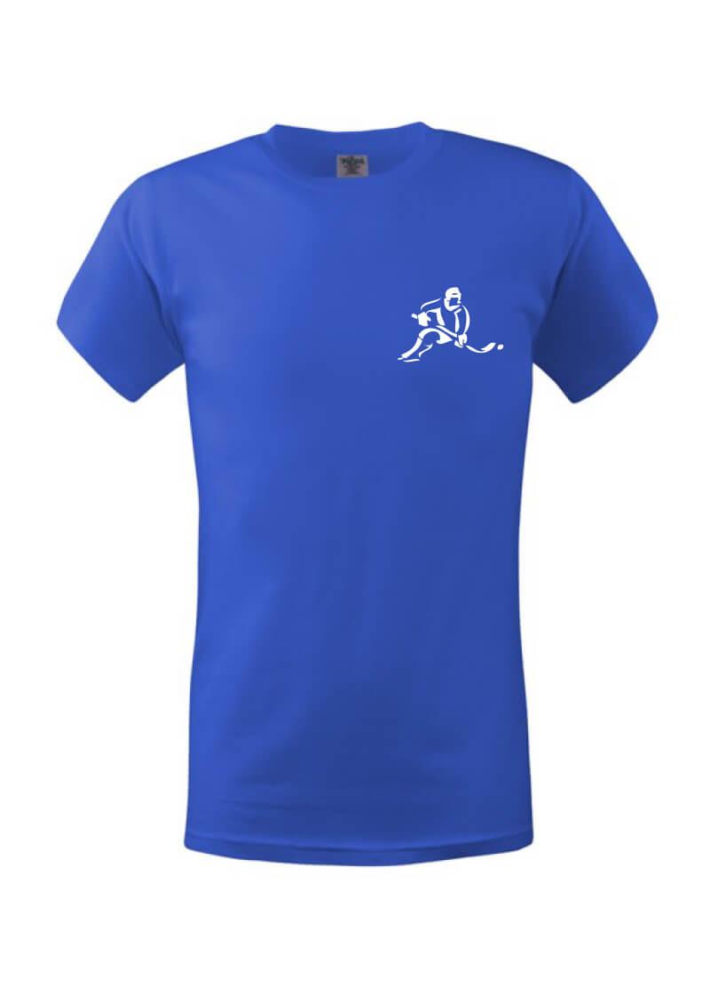 Dětské triko hokejista blue