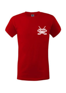 Dětské tričko hokejky red
