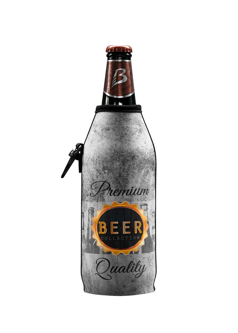 Neoprenový termoobal na sklo a PET lahev 0,5l Premium beer
