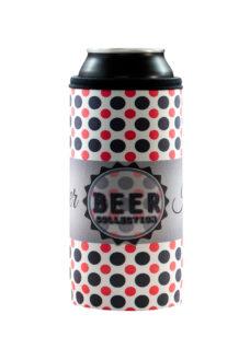 Neoprenový termoobal na plechovku 0,5l Beer collection dots