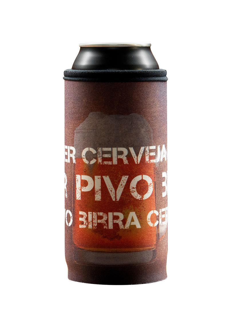 Neoprenový termoobal na plechovku 0,5l Pivo