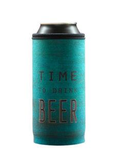 Neoprenový termoobal na plechovku Time to drink beer 1