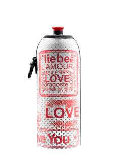 Neoprenový termoobal na sportovní a Zdravou lahev 0,7l potisk Love2a