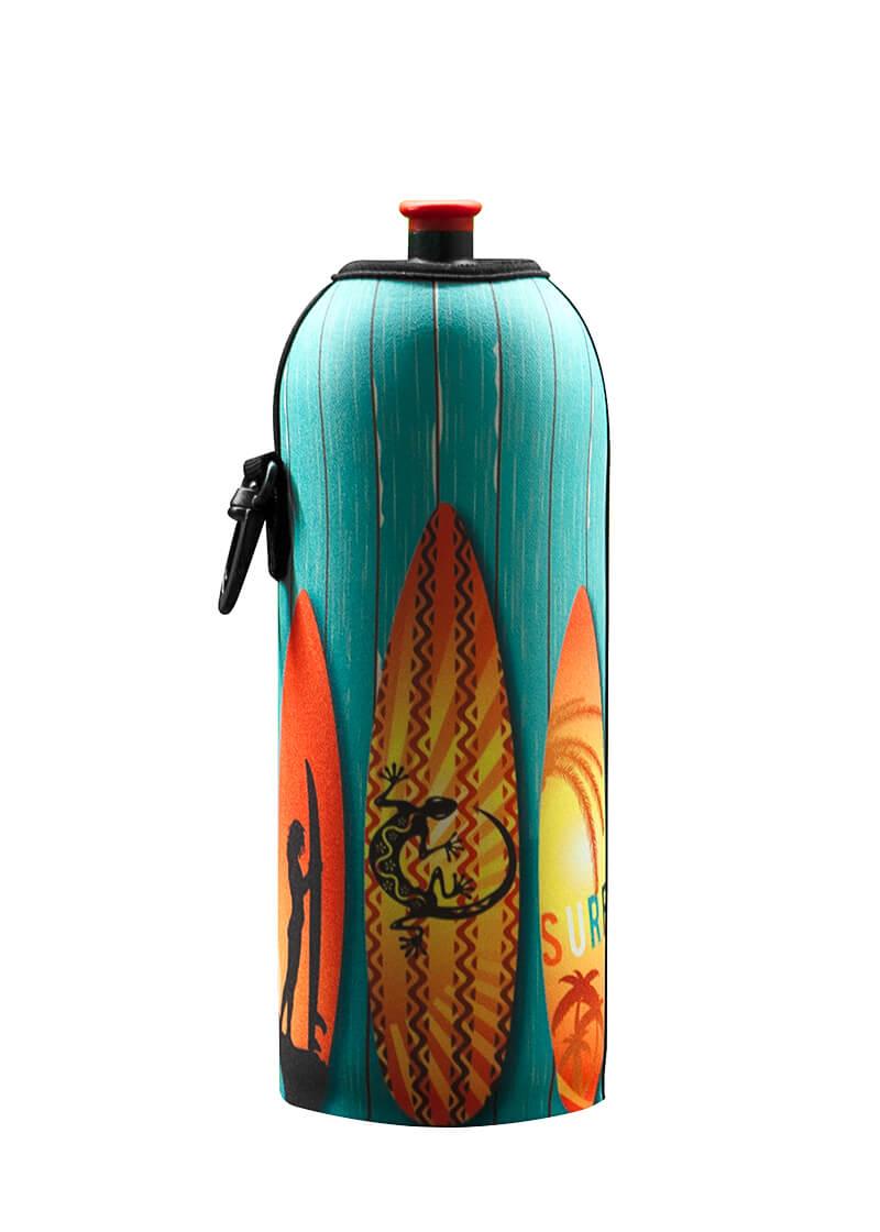 Neoprenový termoobal na sportovní a Zdravou lahev 0,7l potisk Surf