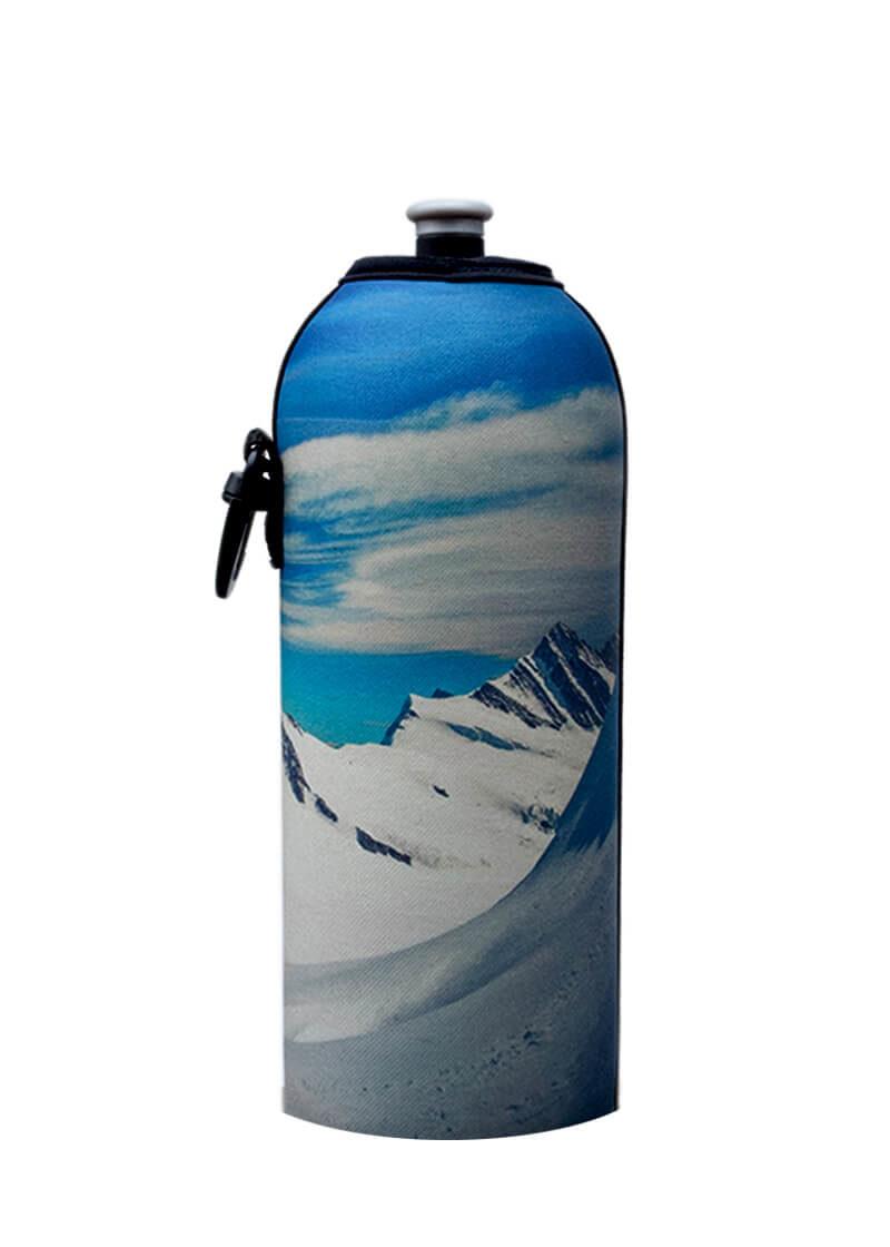 Neoprenový termoobal na sportovní a Zdravou lahev 0,7l potisk Hory