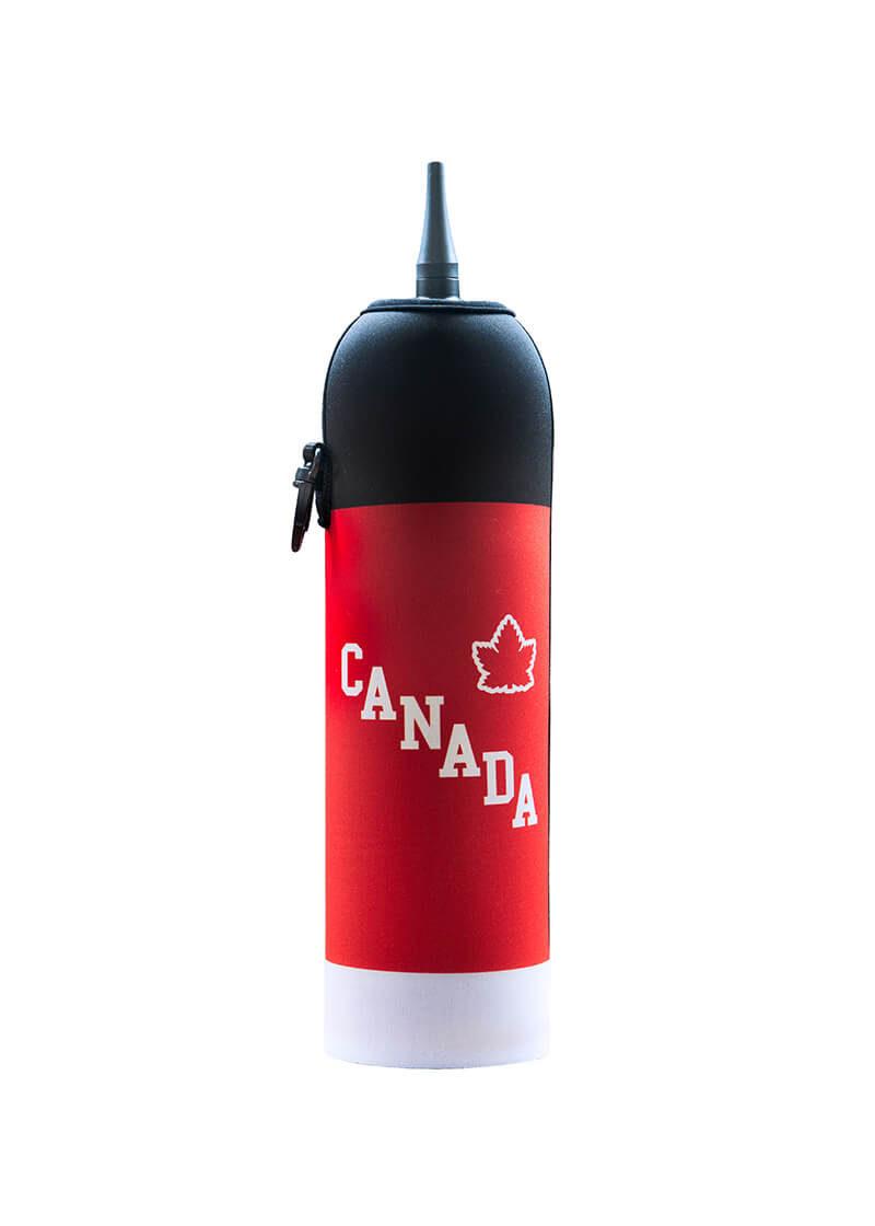 Neoprenový termoobal na hokejovou lahev 1,0l dres Canada