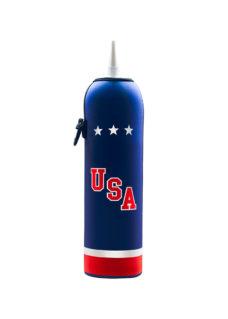 Neoprenový termoobal na hokejovou lahev 1,0l dres USA