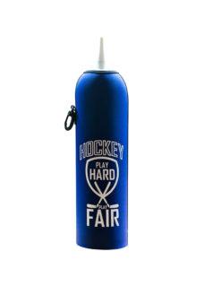 Neoprenový termoobal na hokejovou láhev 1,0l potisk Play hard play fair