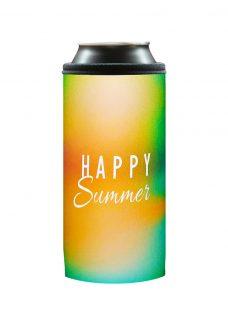 Neoprenový termoobal na plechovku 0,5l Happy summer yellow