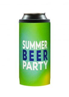 Neoprenový termoobal na plechovku 0,5l summer beer party