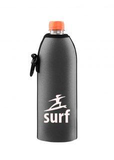 Neoprenový termoobal na sklo a pet láhev 0,5l potisk surfař